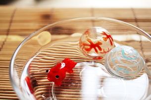 ガラス細工の金魚の写真素材 [FYI00128405]