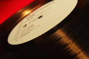 レコード盤の写真素材 [FYI00128410]