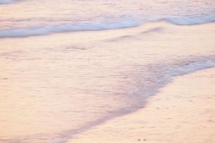 朝方の海の素材 [FYI00128415]