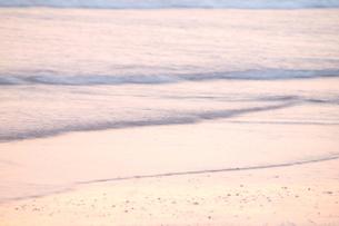 朝方の海の素材 [FYI00128446]