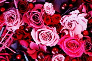 バラの造花の素材 [FYI00128457]