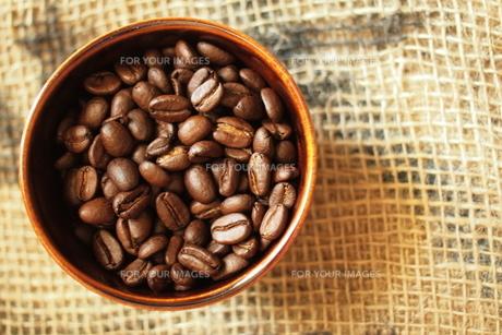 コーヒー豆の素材 [FYI00128489]