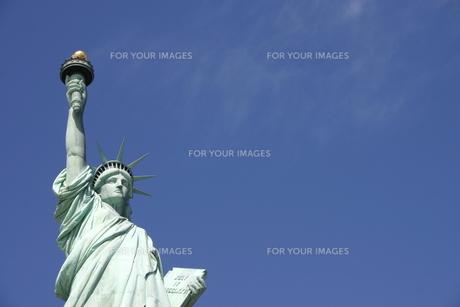 自由の女神の写真素材 [FYI00128657]