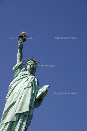 自由の女神の写真素材 [FYI00128663]