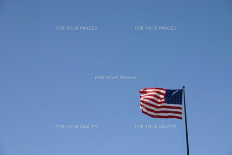 星条旗の写真素材 [FYI00128665]