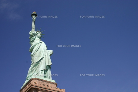 自由の女神の写真素材 [FYI00128698]