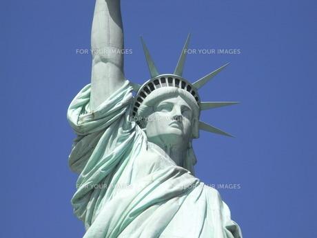 自由の女神の写真素材 [FYI00128699]