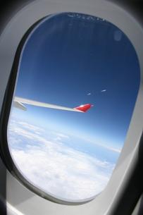 飛行機からみた空の素材 [FYI00128787]