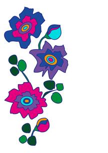花イラストの写真素材 [FYI00128837]