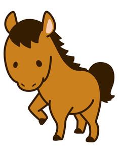 馬の写真素材 [FYI00128845]