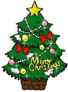 クリスマスツリーの写真素材 [FYI00128858]