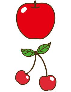 りんご・さくらんぼの写真素材 [FYI00128862]