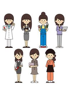 働く女性の写真素材 [FYI00128864]