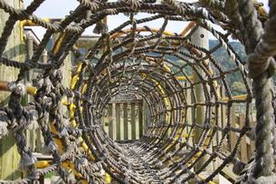 ロープのトンネルの写真素材 [FYI00131239]