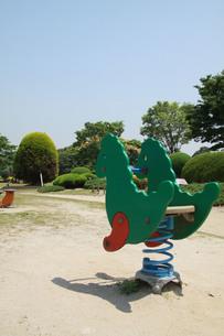 緑色の怪獣の写真素材 [FYI00131311]