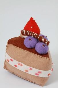 おもちゃのケーキの写真素材 [FYI00131319]