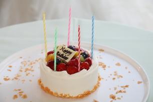 Birthday Cakeの写真素材 [FYI00131338]