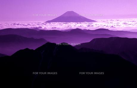 富士山 遠望4の素材 [FYI00131445]