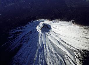 富士山の火口の写真素材 [FYI00131448]