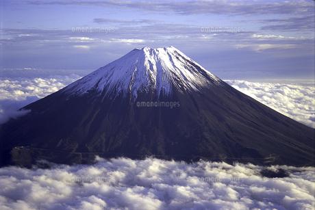 雲海と富士山2の素材 [FYI00131450]