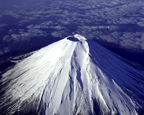富士山 遠望の素材 [FYI00131451]