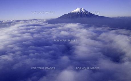 雲海と富士山の素材 [FYI00131465]