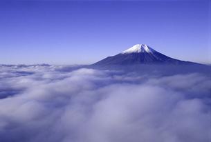 富士山と雲海の素材 [FYI00131474]