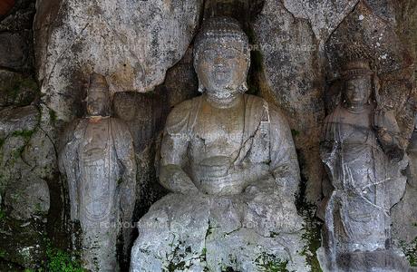 臼杵の磨崖仏(2)の素材 [FYI00131599]
