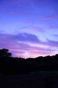 夕空の写真素材 [FYI00131809]