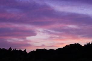 夕空の写真素材 [FYI00131814]