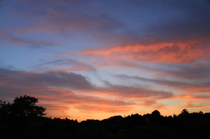 夕焼け空の写真素材 [FYI00131816]