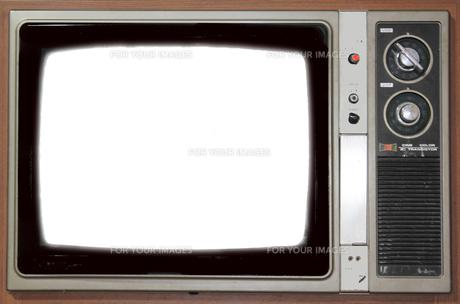 古いテレビのフレームの素材 [FYI00131946]
