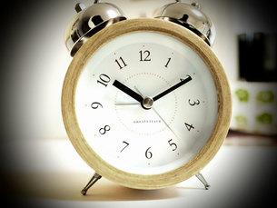 目覚まし時計の写真素材 [FYI00133181]
