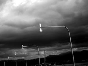 路肩表示標識の写真素材 [FYI00133184]