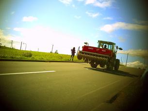 農業トラックの写真素材 [FYI00133186]