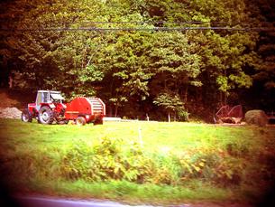 農業トラックの写真素材 [FYI00133195]