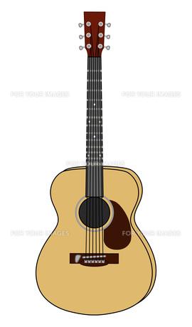 フォークギターのイラストの写真素材 [FYI00133231]
