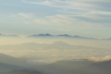 雲海の写真素材 [FYI00133333]
