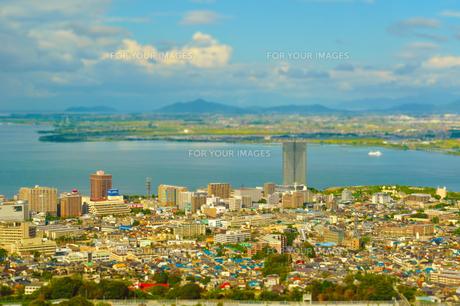 琵琶湖風景の写真素材 [FYI00133593]