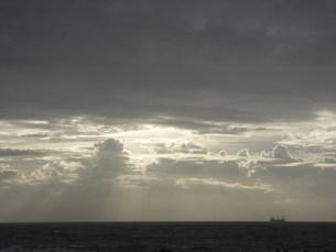 台風一過の景色の写真素材 [FYI00133606]