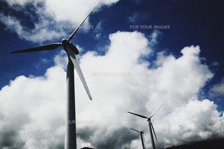 風力発電所の素材 [FYI00133648]