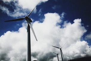 風力発電所の写真素材 [FYI00133648]