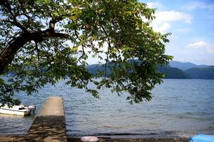 野尻湖畔の写真素材 [FYI00133723]