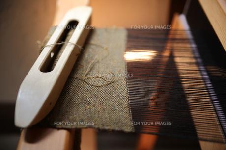 機織り機の素材 [FYI00133727]