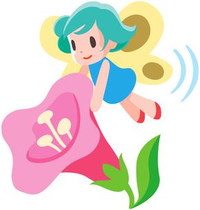 花の妖精の写真素材 [FYI00133860]