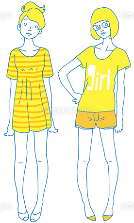 girlの素材 [FYI00133905]