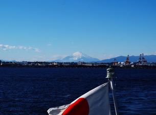 日の丸と富士の写真素材 [FYI00134117]