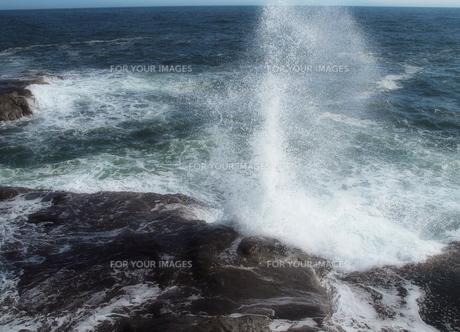 波しぶきの写真素材 [FYI00134123]