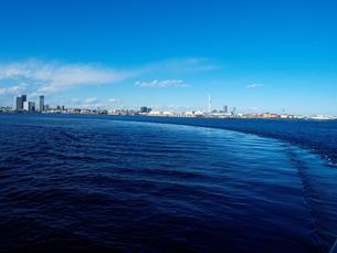 横浜の潮目の写真素材 [FYI00134189]