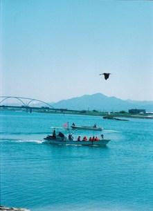 観光船と漁船の離合の素材 [FYI00134253]